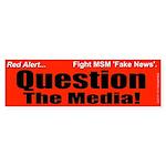 Question Media Sticker (Bumper)