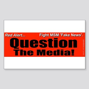 Question Media Sticker (Rectangle)