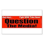 Question Media Sticker (Rectangle)