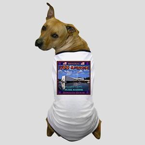 USS Arizona Dog T-Shirt