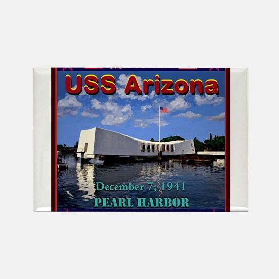 USS Arizona Magnets