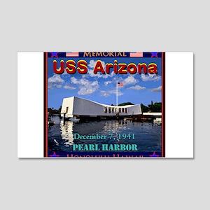 USS Arizona Wall Decal