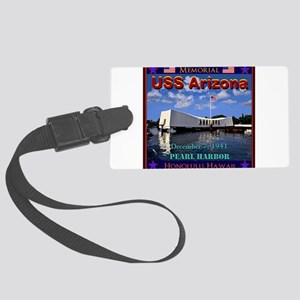 USS Arizona Luggage Tag