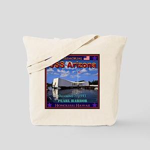 USS Arizona Tote Bag