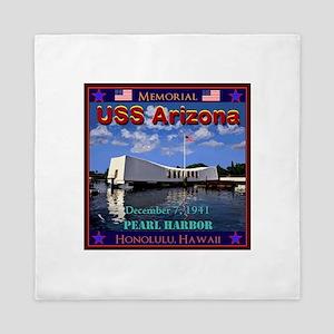 USS Arizona Queen Duvet