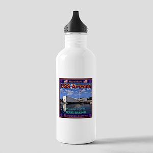 USS Arizona Water Bottle