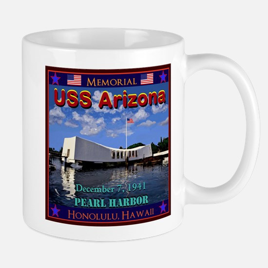 USS Arizona Mugs