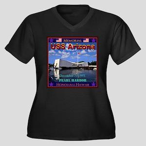 USS Arizona Plus Size T-Shirt