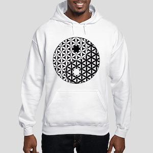 Yin Yang Flower of Life Sweatshirt