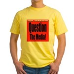 Question Media Yellow T-Shirt