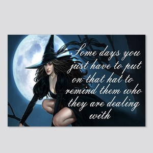 witch humor Postcards (Package of 8)