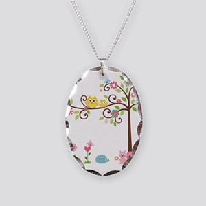 familytree Necklace Oval Charm