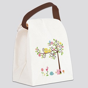 familytree Canvas Lunch Bag