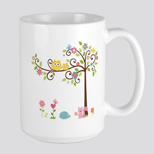 Owl family tree Mugs