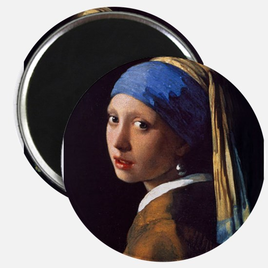 Girl With a Pearl Earring Magnets