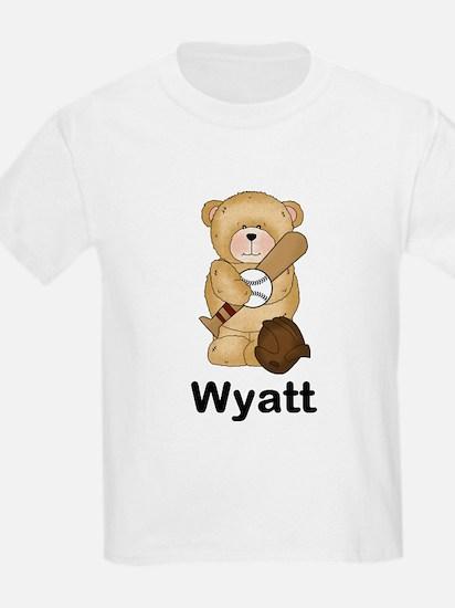 Wyatt's Baseball Bear T-Shirt