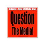 Question Media Square Sticker 3