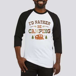 Rather Be Camping C1 Baseball Jersey