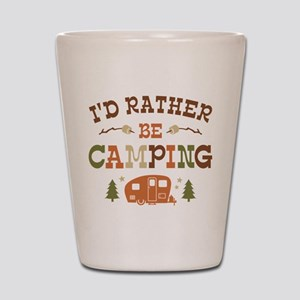 Rather Be Camping C1 Shot Glass