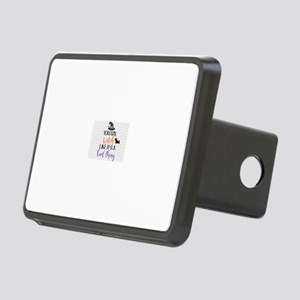 Witch like its a bad thing Rectangular Hitch Cover