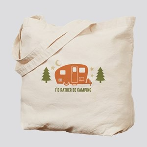 Rather Be Camping C3 Tote Bag