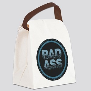 Bad Ass Canvas Lunch Bag