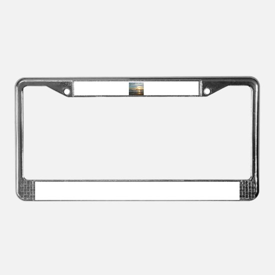 Lighthouse License Plate Frame