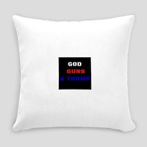 God Guns & Trump Everyday Pillow