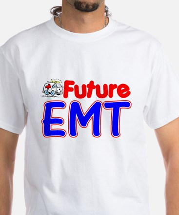 future emt white T-Shirt