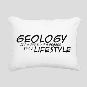 Geology Lifestyle Rectangular Canvas Pillow
