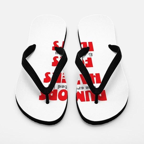 rumors Flip Flops