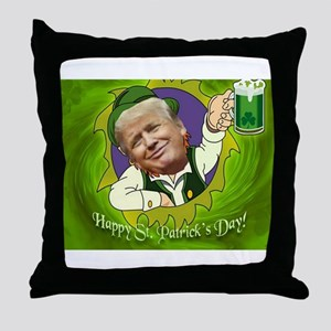 Happy St. Patrick's day Throw Pillow