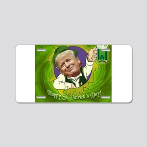 Happy St. Patrick's day Aluminum License Plate