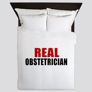 Real Obstetrician Queen Duvet