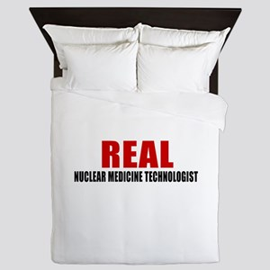 Real Nuclear Medicine Technologist Queen Duvet