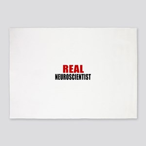 Real Neuroscientist 5'x7'Area Rug