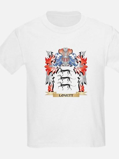 Lovett Coat of Arms - Family Crest T-Shirt