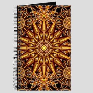 Honey Star Mandala Journal