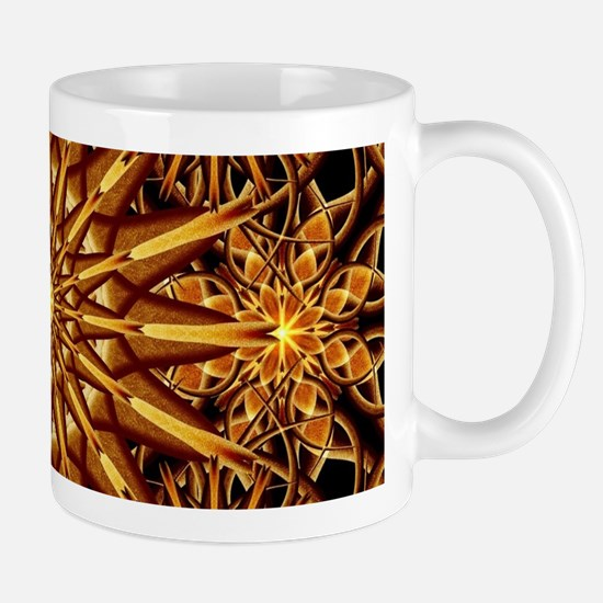 Honey Star Mandala Mugs