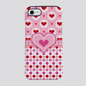 Country Valentines Hearts iPhone 8/7 Tough Case