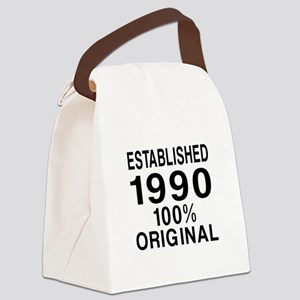 Est.Since 1990 Canvas Lunch Bag