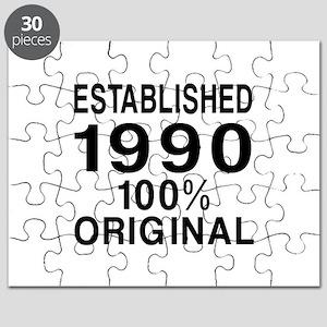 Est.Since 1990 Puzzle