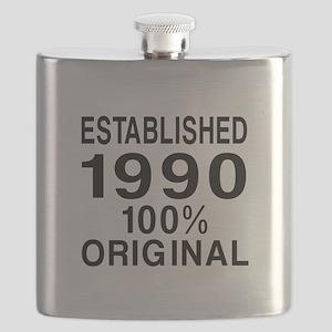 Est.Since 1990 Flask