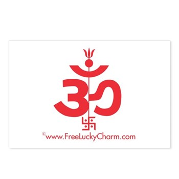 Lucky Charm Postcards (Package of 8)