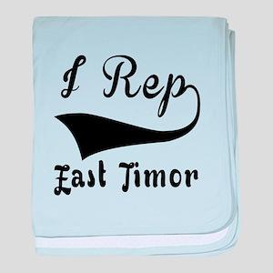 I Rep East Timor baby blanket