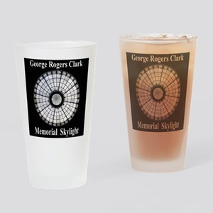 Clark Memorial Drinking Glass