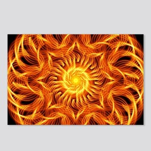 Holy Fire Mandala Postcards (Package of 8)