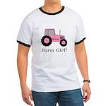 Farm Girl Tractor Ringer T