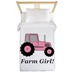 Farm Girl Tractor Twin Duvet