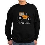 Farm Girl Tractor Sweatshirt (dark)